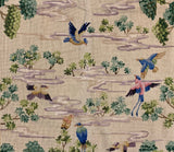 Chinese Bird Needlepoint