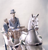 Lladro Bridal Carriage Couple