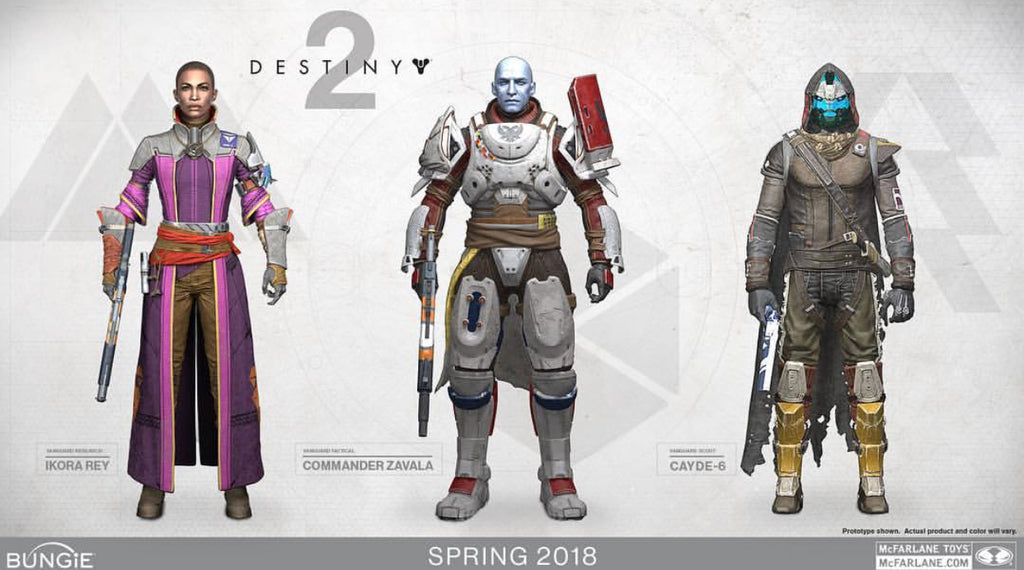 Destiny 2 Action Figures from Mcfarlane Toys annouched!!