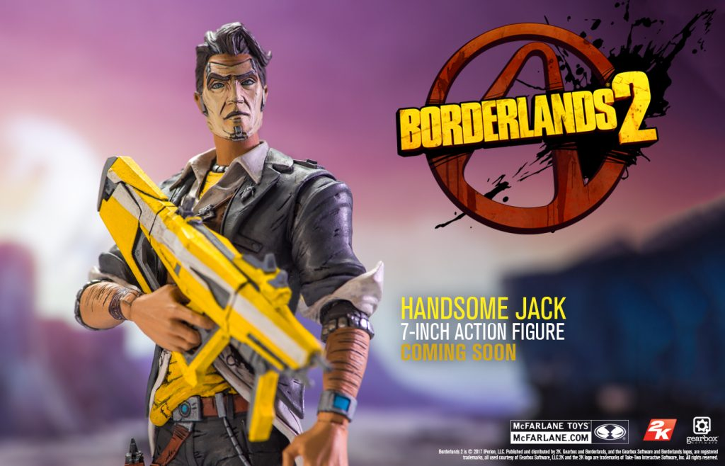 Borderlands - McFarlane Toys release first toy-making images!