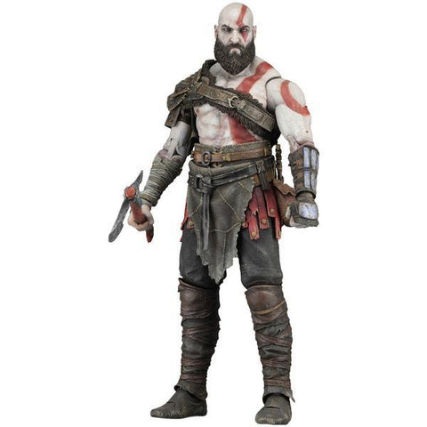 NECA, God of War (2018) – 7″ Scale Action Figure – Kratos (Pre-Order) - ASC