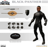 Marvel Universe Action Figure One:12 Black Panther  (Pre-Order)