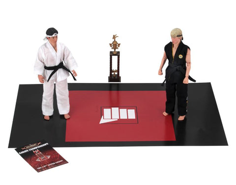 "Karate Kid (1984) 8"" Clothed Action Figure Tournament 2 Pack (Pre-Order)"