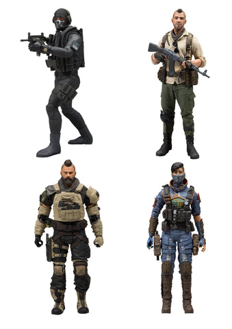 Call of Duty Action Figures 18 cm Assortment 4pck