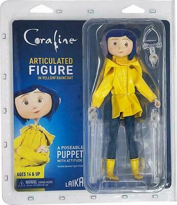 "Coraline in Raincoat 7"" Bendy Fashion Doll"