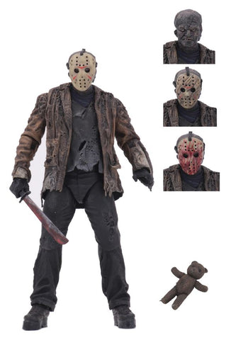 "Freddy Vs Jason 7"" Scale Action Figure Ultimate Jason Voorhees (PRE-ORDER)"