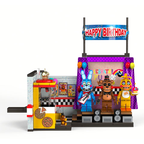 Five Nights At Freddys Large Set 5 The Toy Stage (Pre-Order)