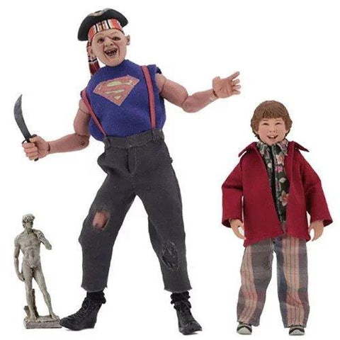 "Goonies 8"" Clothed Figures Sloth & Chunk 2 Pack (Pre-Order)"
