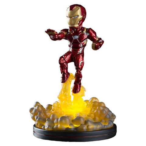 Marvel Comics Light-Up Q-Fig Figure Iron Man (Pre-Order)