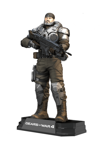"Gears of War 4 Marcus Fenix Colour Tops 7"" Action Figure"