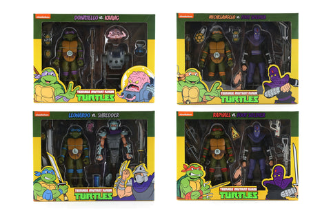 Teenage Mutant Ninja Turtles 2 pack Series (PRE-ORDER)