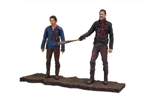 The Walking Dead Hero Deluxe Box set 5 inch Action Figures - Glenn Rhee, Negan
