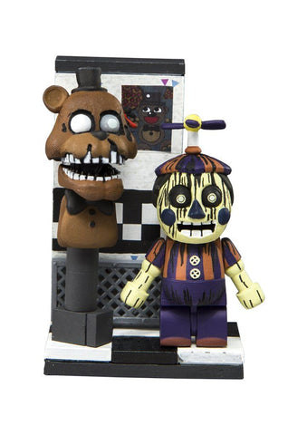 Friday Night at Freddy's Series 3 Micro Set - Office Hallway (Pre-Order)