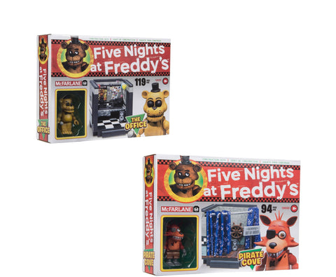Five Nights at Freddy's Small Construction Set Classic Series Assortment