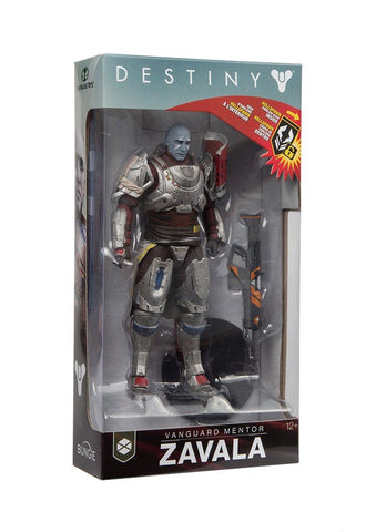 "Destiny 2 Commander Zavala Colour Tops 7"" Action Figure"