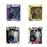 Fortnite Premium Figures Wave 3, Dark Bomber, Jonesy, Wild Card Red, Wild Card Black