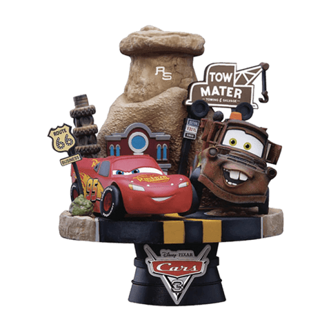 Cars 3 D-Select PVC Diorama Disney