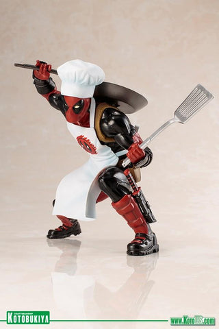 Marvel Cooking Deadpool ArtFX+ Action Figure (Pre-order) - Kotobukiya