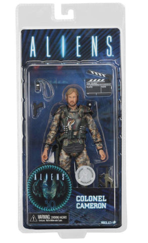 "Aliens 7"" Action Figure - Col. James Cameron Exclusive (Pre-Order) - NECA"