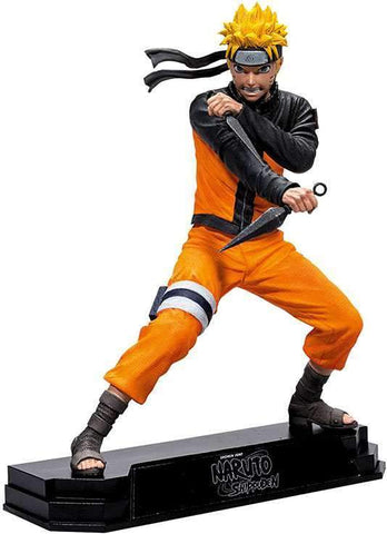 "Naruto Shippuden Naruto Colour Tops 7"" Action Figure"