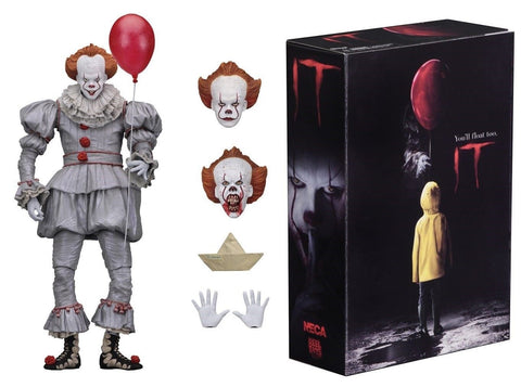 "Pennywise IT Action Figure Ultimate 7"" 2017"