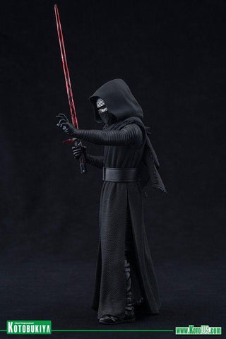 "Star Wars Kylo Ren The Force Awakens 7""Action Figure ArtFX+ - Kotobukiya"