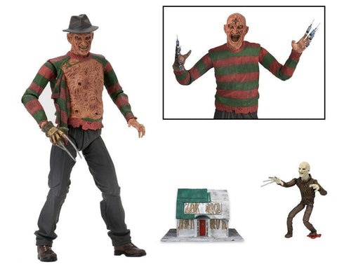 "NECA, Nightmare on Elm Street Ultimate Freddy - Part 3 Dream Warriors 7"" Action Figure - ASC"