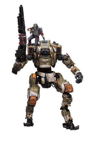 Titanfall 2 Deluxe Action Figure BT-7274 with Jack Cooper Action Figure
