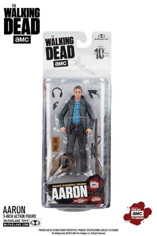 McFarlane Toys, The Walking Dead Series 10 Action Figure - Aaron (Exclusive Edition) - Autostrada Collectables