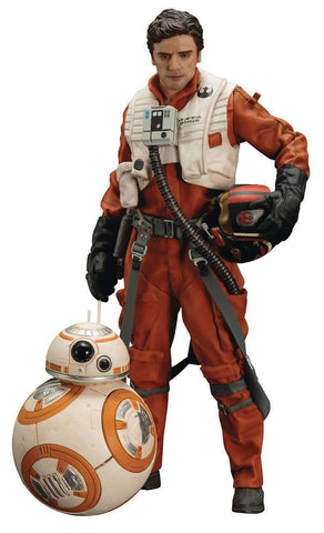 Star Wars Poe Dameron & BB-8 Action Figure ARTFX+ SW122
