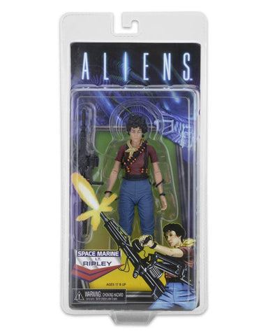 "NECA, Aliens Ripley Kenner Tribute 7"" Action Figure with comic - ASC"