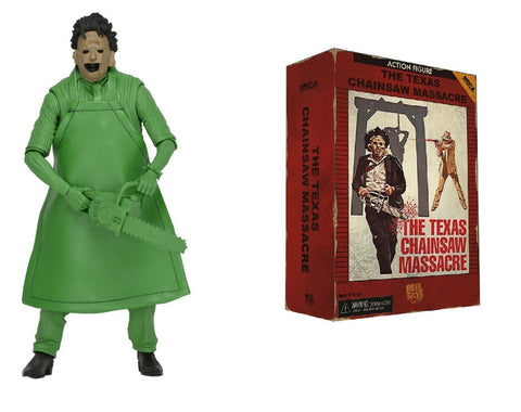 "Texas Chainsaw Massacre Leatherface Atari Video game 7"" Action Figure - NECA"