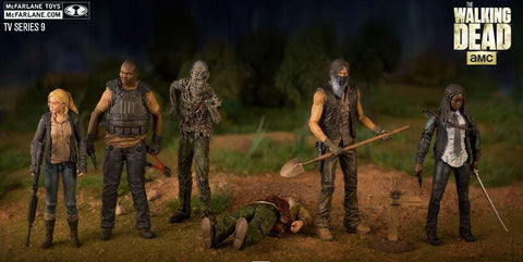 The Walking Dead Action Figures - Series 9 - McFarlane Toys