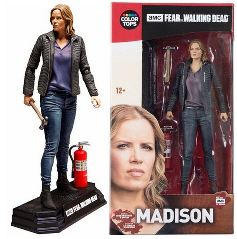 "Fear The Walking Dead - Madison Clark Colour Tops Red 7"" Action Figure - McFarlane Toys"