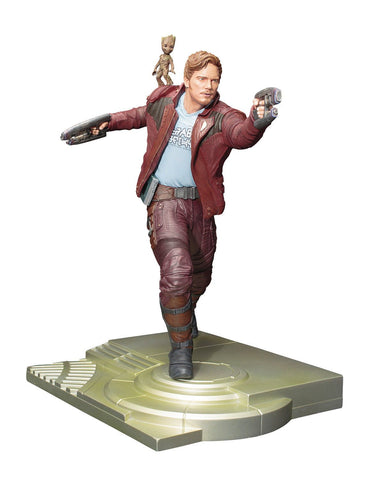 Guardians of the Galaxy Vol.2 Star-Lord with Groot ArtFX Action Figure