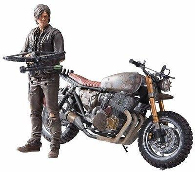 McFarlane Toys, The Walking Dead Series 9 Action Figure - Daryl Dixon with Custom Bike - ASC