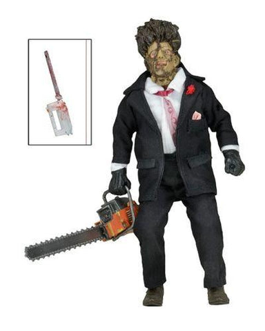 "Texas Chainsaw Massacre Part 2 30th Anniversary Leatherface 8"" Action Figure - NECA"