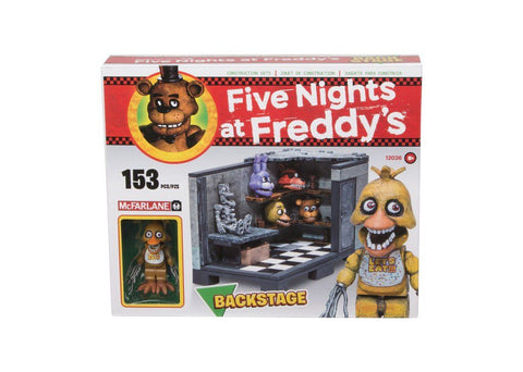 Five Nights at Freddy´s Medium Construction Set Backstage (Classic Series) (Pre-Order)