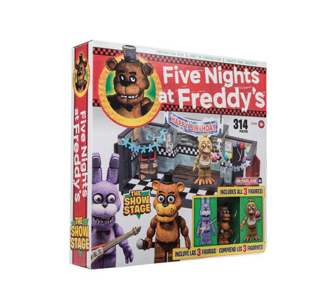 Five Nights at Freddy´s Large Construction Set Showstage (Classic Series) (Pre-Order)
