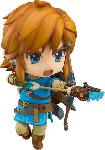 The Legend of Zelda Breath of the Wild Nendoroid Action Figure Link 10 cm (Pre-Order)