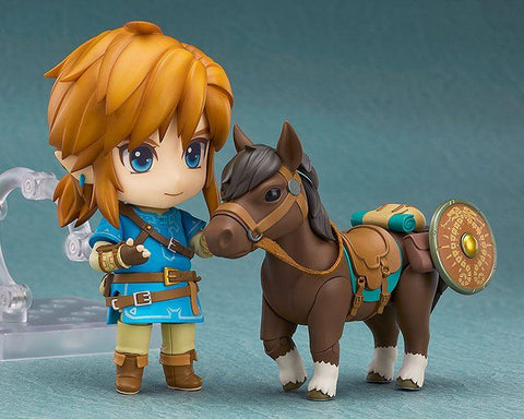 The Legend of Zelda Breath of the Wild Nendoroid Figure Link Deluxe (Pre-Order)