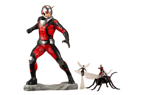 Marvel Avengers Series ARTFX+ PVC Statue Astonishing Ant-Man & Wasp Figure