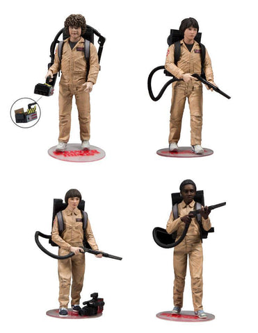 Stranger Things Ghostbuster Deluxe 4 pack