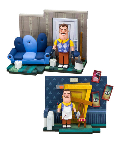 Hello Neighbor Small Construction Sets Assortment (Pre-Order)