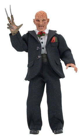 A Nightmare on Elm Street 3 Retro Action Figure Tuxedo Freddy 7""