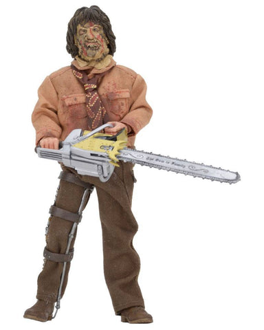 "Texas Chainsaw Massacre Part 3 Clothed Leatherface 8"" Action Figure - NECA"