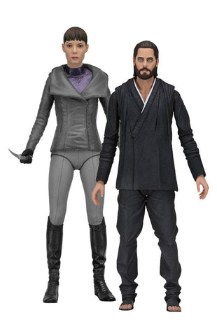 "Blade Runner 2049 Action Figure scale 7"" Series 2 - Wallace/Luv 2 Pack (Pre-Order) - NECA"