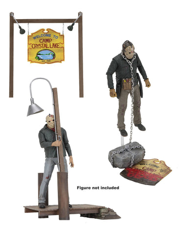Friday the 13th Accessory Pack Camp Crystal Lake (Pre-Order) - NECA