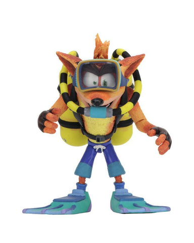 Crash Bandicoot Deluxe Action Figure Scuba Crash 14 cm (PRE-ORDER)