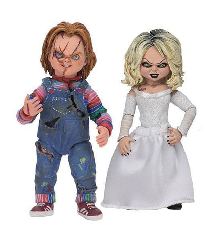 Bride of Chucky Ultimate Action Figure 2-Pack Chucky & Tiffany (Pre-Order)